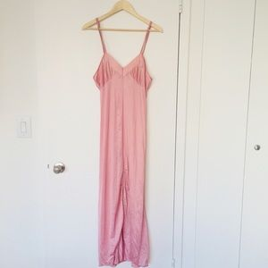 Diane von Furstenberg blush pink silk dress